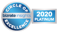 Bizrate Insights 2020 Circle of Excellence Platinum Award